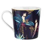 Portmeirion - Sara Miller Tahiti Mug Cockatoo 340ml