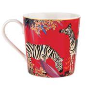 Portmeirion - Sara Miller Tahiti  Mug Zebra 340ml