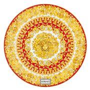 Rosenthal - Versace Medusa Rhapsody Plate Red 33cm