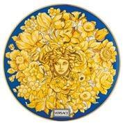 Rosenthal - Versace Medusa Rhapsody Plate Blue 17cm