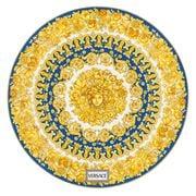 Rosenthal - Versace Medusa Rhapsody Plate Blue 33cm