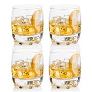 Bormioli Rocco - Galassia Double Old Fashioned Set 4pce