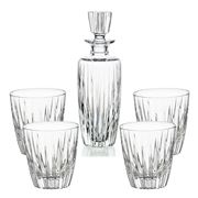 Vista Alegre - Fantasy Whisky Decanter/ DOF Tumbler Set 5pce