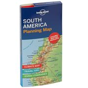 Lonely Planet - South America Planning Map