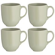 Mason Cash - Classic Collection Mug Set Green 4pce 400ml