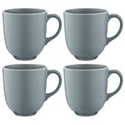 Mason Cash - Classic Collection Mug Set Grey 4pce  400ml