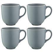 Mason Cash - Classic Collection Mug Grey 400ml Set 4pce