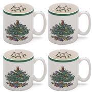 Spode - Christmas Mug Set 4Pce