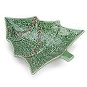Bordallo Pinheiro - Green/Red Christmas Tree Bowl 28cm