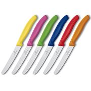 Victorinox - Classic Tomato Multicoloured  Knife Set 6pce