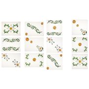 Napking - Floral Linen Placemat & Napkin Set 12pce