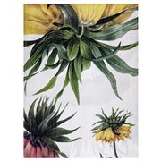 Napking - Linen Tea Towel Fritillaria Pattern 1