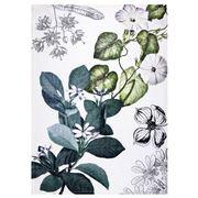 Napking - Linen Tea Towel Knightia Pattern 2