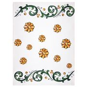 Napking - Linen Kitchen Towel Pattern 2 Floral