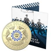 RA Mint - National Police Remembrance Day 2019 $2 Coin Card