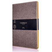 Castelli - 2020 Harris Weekly Diary Medium Tobacco Brown