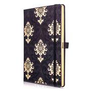 Castelli - 2020 Baroque Weekly Diary Medium Black/Gold