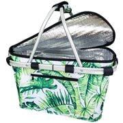 Sachi - Insulated Carry Basket Jungle Leaf