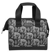 Sachi -  Insulated Lunch Tote Boho Elephants