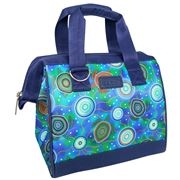 Sachi - Insulated Lunch Tote Sea Turtles