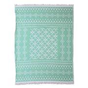 Wonga Road - NYC Hammam Towel Aqua 130x170