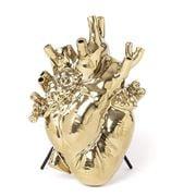 Seletti - Love In Bloom Gold Vase