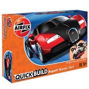 Airfix - Quick Build Bugatti Veyron 16.4 Model 34pce