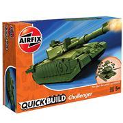 Airfix - Quick Build Challenger Tank Model 35pce