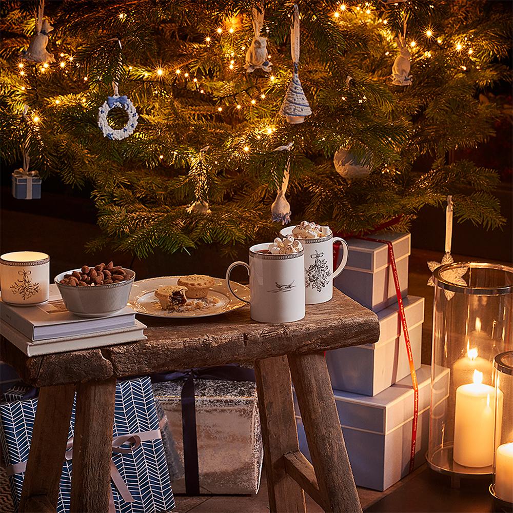 Wedgwood Christmas Ornaments 2019.Wedgwood 2019 Figural Christmas Tree Christmas Ornament