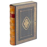 The Original Book Works - Archive Box File Baroque Tan