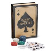 Two's Company - Classic Poker Set In Gift Box