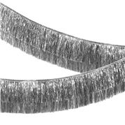 Meri Meri - Tinsel Fringe Garland Silver