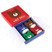 Rex - Baby Socks Bears Set 4pce
