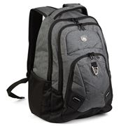 High Sierra - Oxford Laptop Backpack Grey and Black