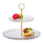 S & P - Milan 2 Tier Cake Stand