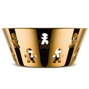 Alessi - Girotondo Round Basket Limited Edition Gold 20.5cm