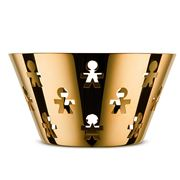 Alessi - Girotondo Fruit Bowl Limited Edition Gold