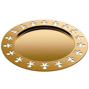 Alessi - Girotondo Round Tray Limited Edition Gold
