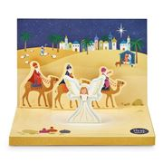 Music Box Card - Little Town Of Bethlehem Music Box Card