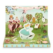 Music Box Card - Adventures In Wonderland Music Box Card