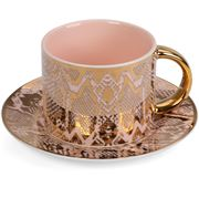 Cristina Re - Moderne Safari Snakeskin Teacup & Saucer