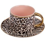 Cristina Re -  Moderne  Safari Leopard Teacup & Saucer