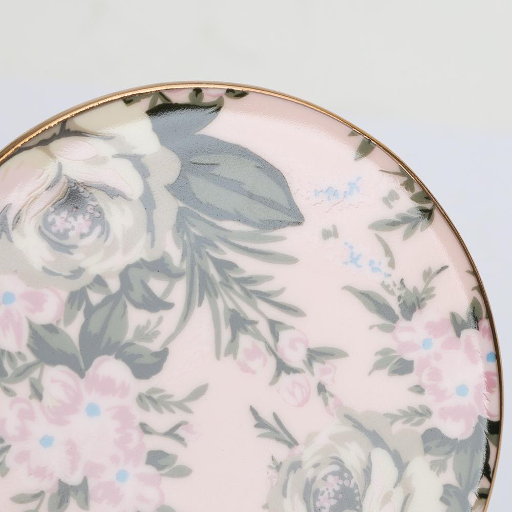 NEW-Cristina-Re-Classique-Belle-De-Fleur-Coaster-Set-4pce thumbnail 2