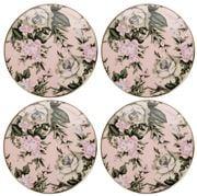 Cristina Re - Classique  Belle De Fleur Coaster  Set 4pce