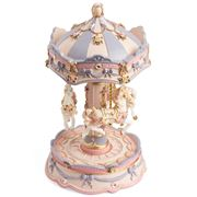 The Russell Collection - Resin Luna & Musical Carousel