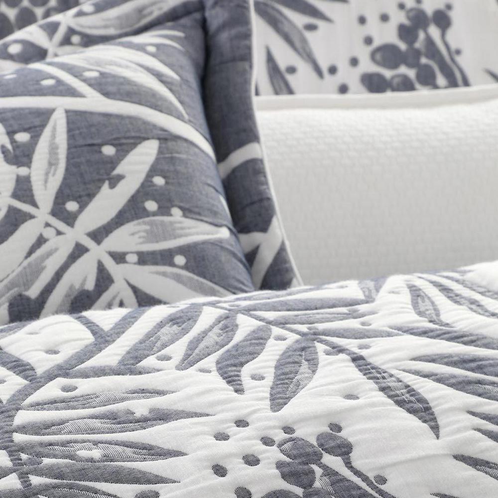 NEW Private Collection Boronia Denim Decorative Cushion