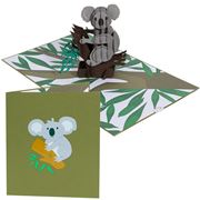 Colorpop - Koala Greeting Card Large