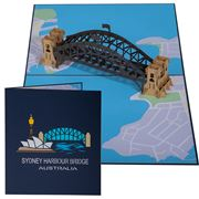 Colorpop - Sydney Harbour Bridge Card Large