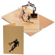 Colorpop - Basketball Dunk Greeting Card Medium