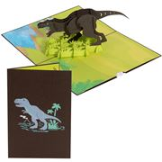 Colorpop - T-Rex Dinosaur Card Medium